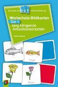 Cover-Bild zu Wortschatz-Bildkarten - Set 1: lang klingende Anlautkonsonanten von Doering, Sabine