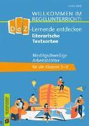 Cover-Bild zu DaZ-Lerner entdecken literarische Textsorten von Weiß, Janina