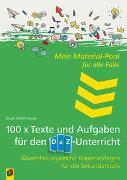 Cover-Bild zu Mein Material-Pool für alle Fälle 100 x Texte und Aufgaben für den DaZ-Unterricht von Müller-Karpe, Beate