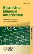 Cover-Bild zu Geschichte bilingual unterrichten von Schlutow, Martin