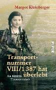 Cover-Bild zu Transportnummer VIII/1387 hat überlebt von Kleinberger, Margot