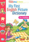 Cover-Bild zu On Holiday - My First English Picture Dictionary von Olivier, Joy (Idee von)