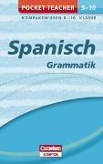 Cover-Bild zu Pocket Teacher Spanisch Grammatik 5.-10. Klasse von Schleyer, Jochen