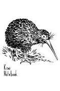 Cover-Bild zu Kiwi Notebook: Ornithology Flighless Bird New Zealand Homework Book Notepad Notebook Composition and Journal Gratitude Diary Bird Wat von Designs, Retrosun
