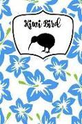 Cover-Bild zu Kiwi Bird: Hibiscus New Zealand: My Favourite Country: Notebook for Kiwi Bird and New Zealand Lovers Gift Present von Designs, Retrosun