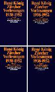 Cover-Bild zu Zürcher Vorlesungen (1938-1952) von König, René