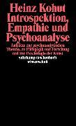 Cover-Bild zu Introspektion, Empathie und Psychoanalyse von Kohut, Heinz