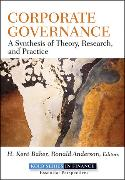 Cover-Bild zu Corporate Governance von Baker, H. Kent