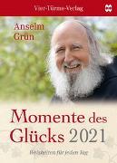 Cover-Bild zu Momente des Glücks 2021 von Grün, Anselm