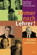 Cover-Bild zu Immer noch Lehrer! von Berner, Hans