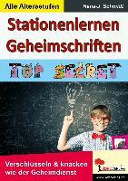 Cover-Bild zu Stationenlernen Geheimschriften von Schmidt, Hans-J.