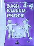 Cover-Bild zu 3./4. Schuljahr: Sachrechnen - Rechen Profi von Anders, Elke