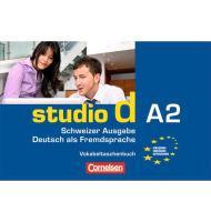 Cover-Bild zu studio d A2. Vokabeltaschenbuch