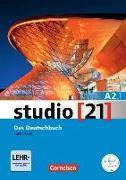Cover-Bild zu studio 21 A2.1. Das Deutschbuch. Kurs- und Übungsbuch mit DVD-ROM von Funk, Hermann