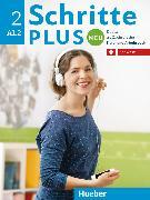 Cover-Bild zu Niebisch, Daniela: Schritte plus Neu 2. A1.2. Schweiz. Kursbuch + Arbeitsbuch mit Audio-CD zum Arbeitsbuch