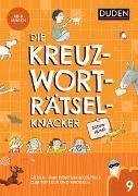 Cover-Bild zu Die Kreuzworträtselknacker - Silbenrätsel (Band 9) von Eck, Janine