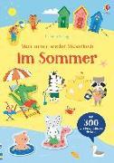 Cover-Bild zu Mein Immer-wieder-Stickerbuch: Im Sommer von Watson, Hannah