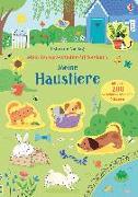 Cover-Bild zu Mein Immer-wieder-Stickerbuch: Meine Haustiere von Watson, Hannah