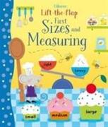Cover-Bild zu Lift-the-Flap First Sizes and Measuring von Watson, Hannah