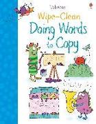 Cover-Bild zu Wipe-Clean Doing Words to Copy von Watson, Hannah