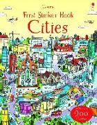 Cover-Bild zu First Sticker Book: Cities von Watson, Hannah