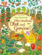 Cover-Bild zu Mein Stickerbuch: Wie wachsen Obst und Gemüse? von Watson, Hannah
