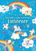 Cover-Bild zu Mein Immer-wieder-Stickerbuch: Einhörner von Watson, Hannah