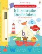 Cover-Bild zu Mein Wisch-und-weg-Buch Schulstart: Ich schreibe Buchstaben von Watson, Hannah
