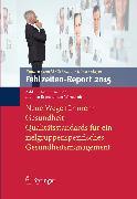 Cover-Bild zu Fehlzeiten-Report 2015 (eBook) von Badura, Bernhard (Hrsg.)