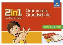 Cover-Bild zu 2in1 zum Nachschlagen. Grammatik. Grundschule von Berens, Hedi