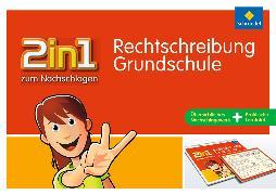 Cover-Bild zu 2in1 zum Nachschlagen. Rechtschreibung. Grundschule von Vau, Katja