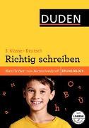 Cover-Bild zu Übungsblock: Deutsch - Richtig schreiben 3. Klasse von Thiel, Alexandra