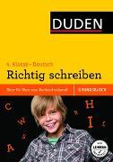 Cover-Bild zu Übungsblock: Deutsch - Richtig schreiben 4. Klasse von Schauer, Sandra