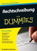 Cover-Bild zu Rechtschreibung für Dummies von Wermke, Matthias