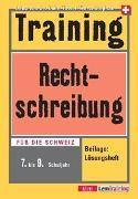 Cover-Bild zu Training Rechtschreibung - Training Neue Rechtschreibung