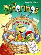 Cover-Bild zu Die Dinorinos wollen Kekse von Wieker, Katharina
