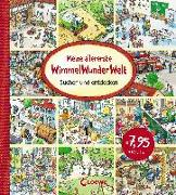 Cover-Bild zu Meine allererste WimmelWunderWelt von Loewe Wimmelbücher (Hrsg.)