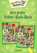 Cover-Bild zu Die verflixten Sieben - Mein großes Fehler-Such-Buch von Loewe Lernen und Rätseln (Hrsg.)