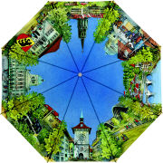 Cover-Bild zu Hallwag Stockschirm Bern, Aquarell