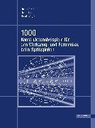Cover-Bild zu 1000 Konstruktionsbeispiele für den Werkzeug- und Formenbau beim Spritzgießen (eBook) von Krahn, Heinrich