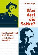Cover-Bild zu Was darf die Satire? (eBook) von Vogel, Harald
