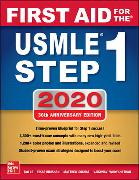 Cover-Bild zu First Aid for the USMLE Step 1 2020 von Le, Tao