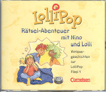 Cover-Bild zu Lollipop Fibel 1. Rätsel-Abenteuer mit Nino und Lolli. Bisherige Ausgabe. Hör-CDs von Metze, Wilfried