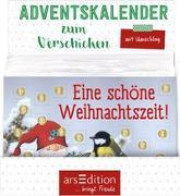 Cover-Bild zu Display Adventskalender zum Verschicken A6-Format für Kinder Wichtelwald