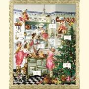 Cover-Bild zu Nostalgische Adventsküche von Behr, Barbara (Illustr.)
