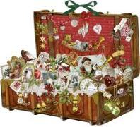 Cover-Bild zu Nostalgischer Weihnachtskoffer von Behr, Barbara (Gestaltet)