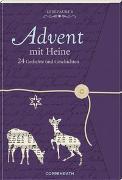 Cover-Bild zu Lesezauber: Advent mit Heine - Briefbuch zum Aufschneiden von Heine