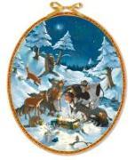 Cover-Bild zu Die Tiere feiern Weihnachten Adventskalender von Haas, Cornelia (Illustr.)