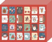 Cover-Bild zu Morgen kommt der Weihnachtsmann! - Ein Adventskalender für Kinder zum Selber-Befüllen