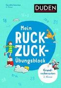Cover-Bild zu Mein Ruckzuck-Übungsblock Grundrechenarten 2. Klasse von Müller-Wolfangel, Ute